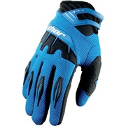 GUANTES CROSS SPECTRUM AZUL
